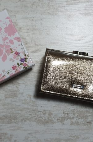 Peňaženka Alessandro zlatá