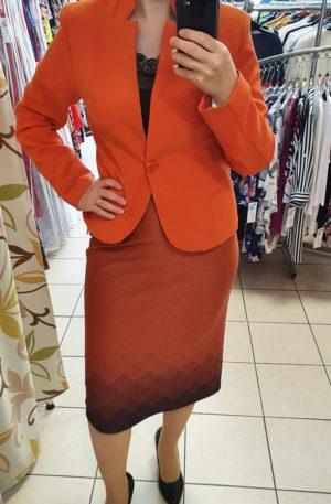Oranžová sukňa Ria