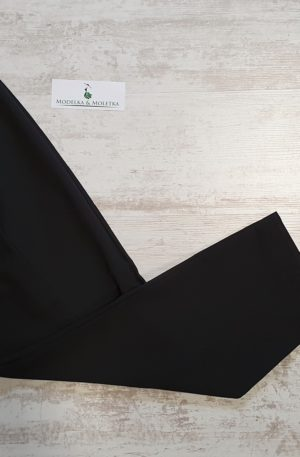 Sedemosminové nohavice Ariela čierne