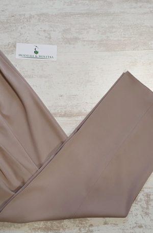 Nohavice Paula béžové bavlnené