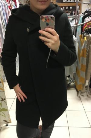 Kabát Silva – čierny