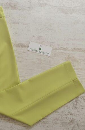 Sedemosminové nohavice Ariela zelené