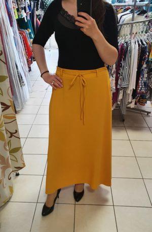 Dlhá žltá sukňa Remia