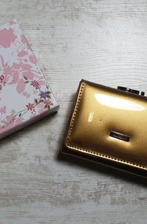Peňaženka Allesandro mini zlatá