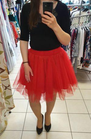 Červená TUTU sukňa