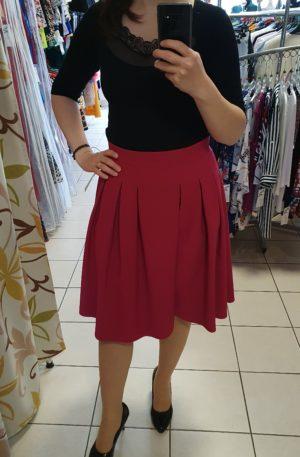 Cviklová sukňa Klaudia