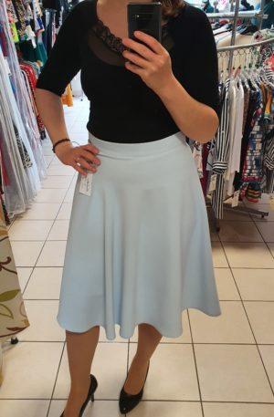 Svetlomodrá sukňa Klaudia