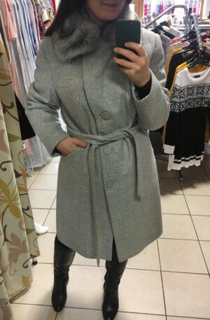 Kabát Aeris – sivý