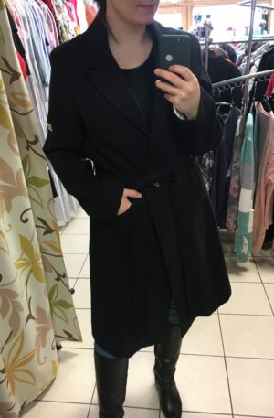Kabát Klaudy – čierny